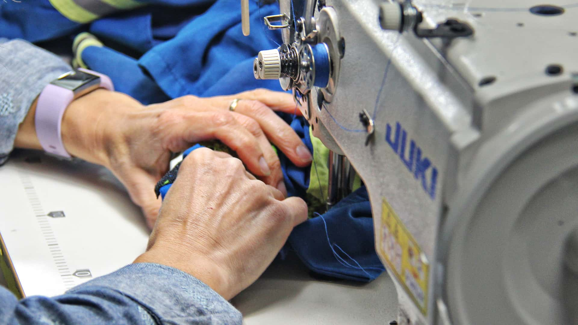 The hard working staff at Richmond Dry Cleaners can repair your coveralls in-house