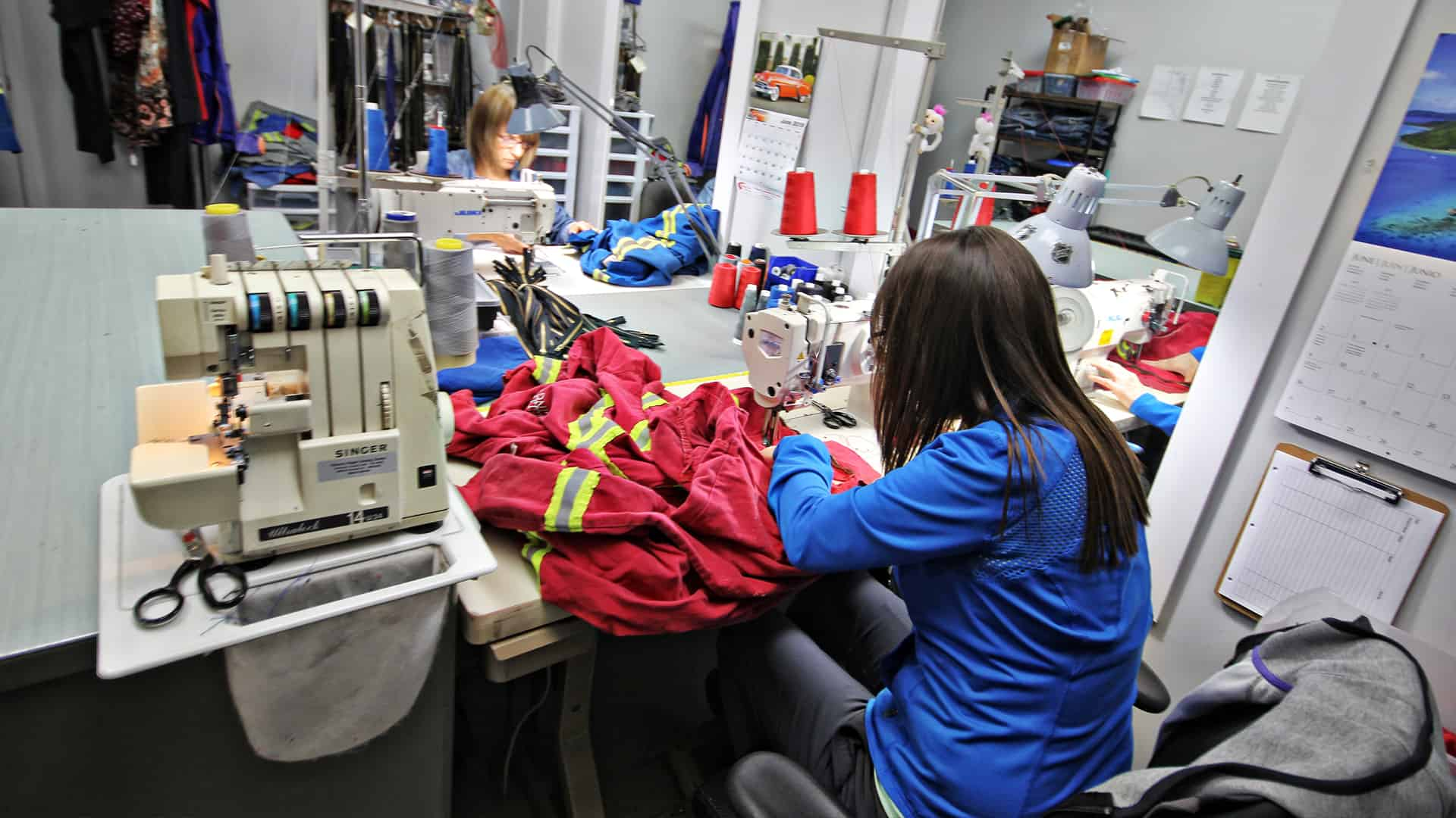 Richmond Dry Cleaners offers in-housevcoverall repair
